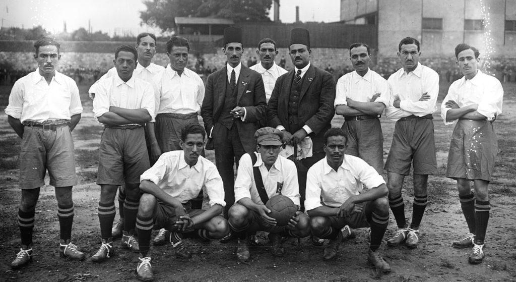 L'équipe d'Égypte en 1920 par la Bibliothèque nationale de France